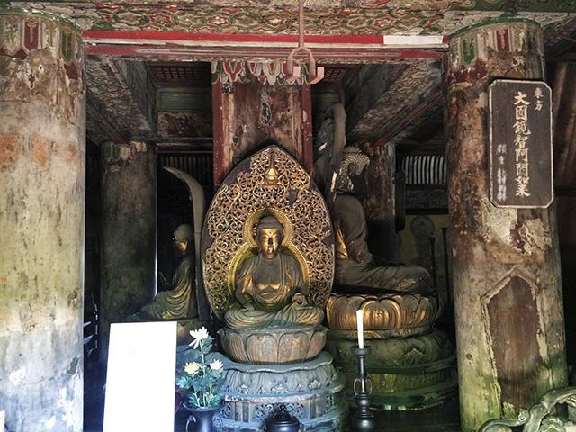 五重塔 - 仏像