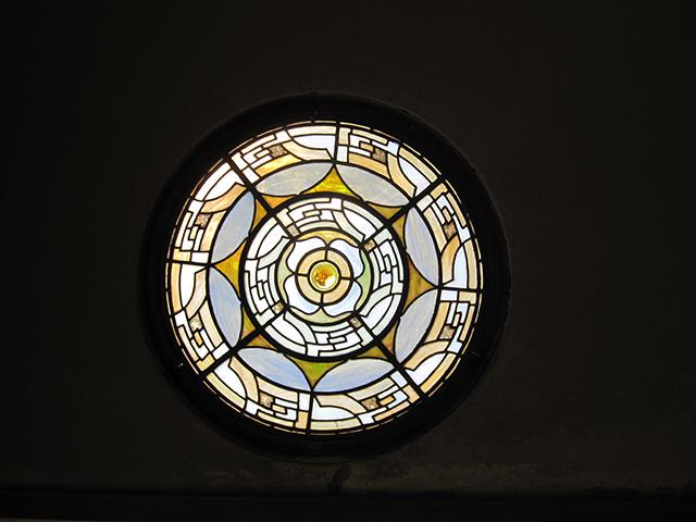 カフェ真古館 - 吉田山荘 ステンドグラス