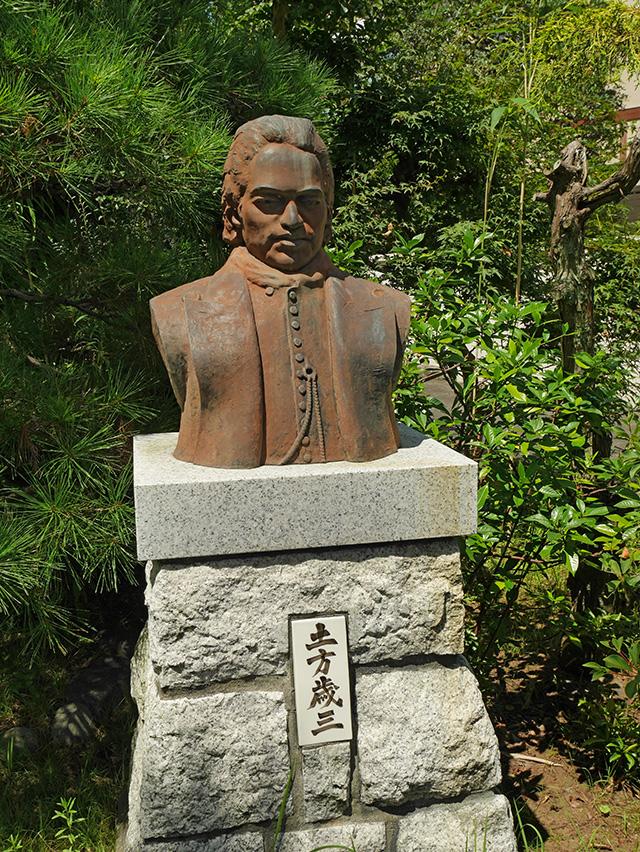 資料館銅像