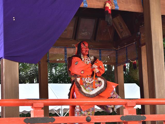 船岡大祭 - 舞楽
