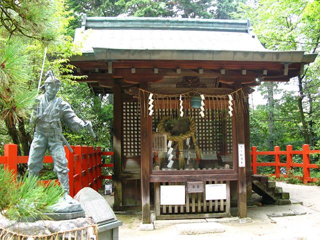 武蔵ゆかりの地 - 八大神社2