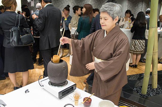 ワコール スタディホール京都 - お抹茶