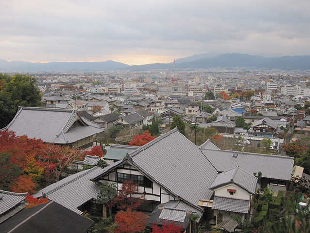 圓光寺 - 山上からの景色