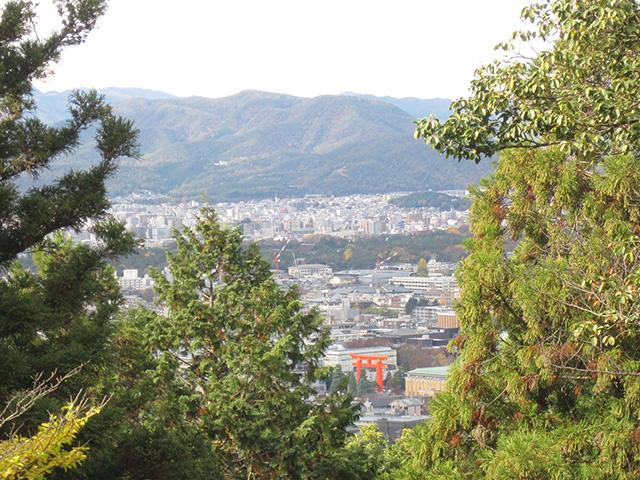 日向大神宮 - 京を一望