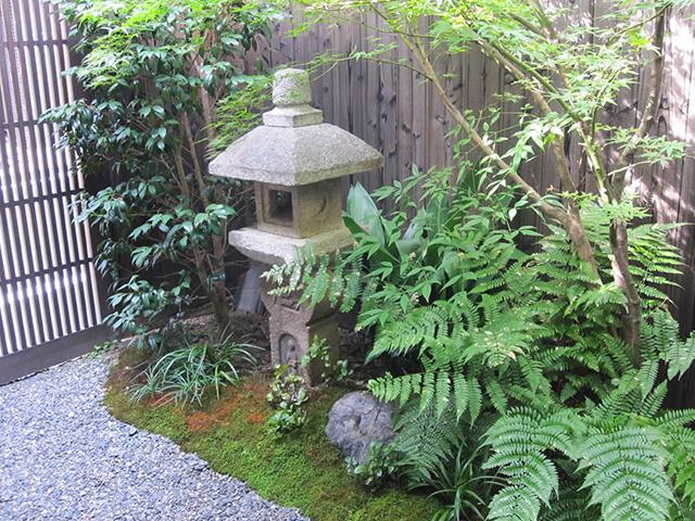 ひとつのおさら - 坪庭