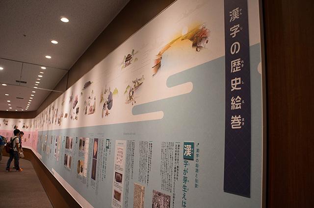 漢字ミュージアム - 歴史
