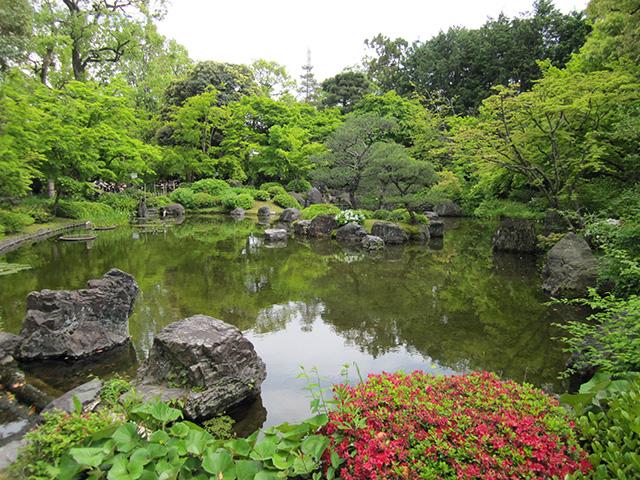 城南宮 神苑 - 平安の庭