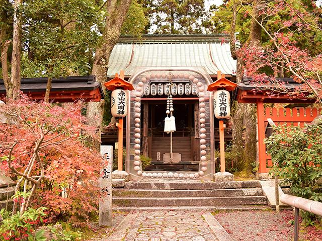 赤山禅院 - 本殿