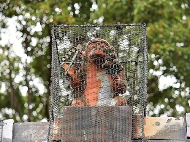 赤山禅院 - 鬼門除け猿