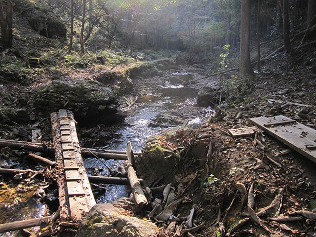 滝又の滝 - 橋2