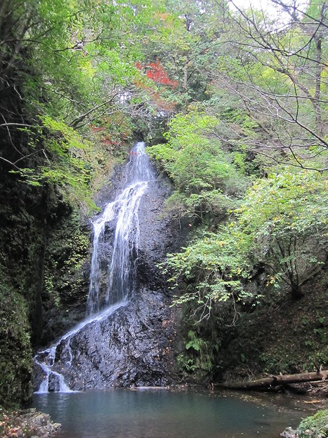 滝又の滝 - 滝と紅葉