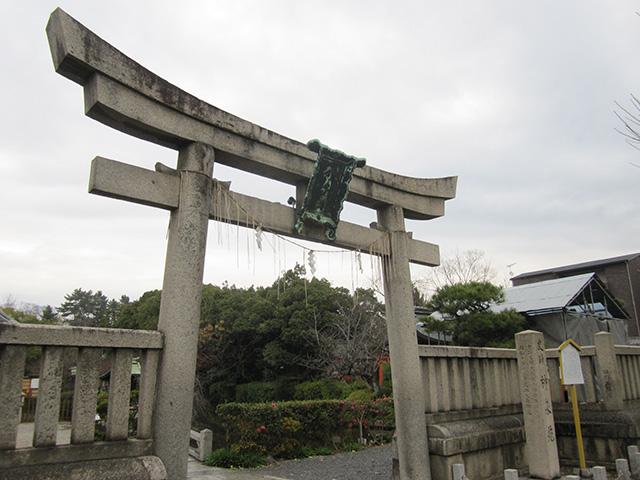 神泉苑 - 大鳥居