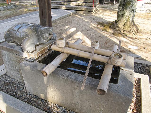 宝寺 - 手水舎