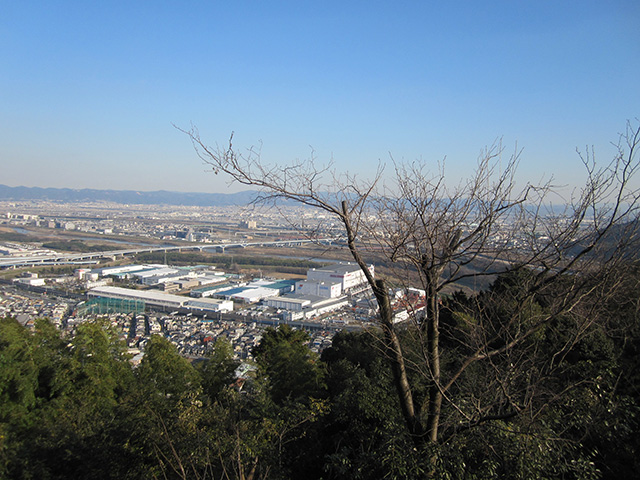 天王山 - 合戦の地