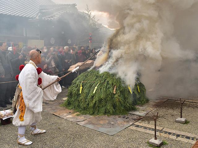 上徳寺 - 護摩供養3