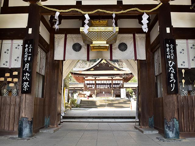 松尾大社 - 楼門