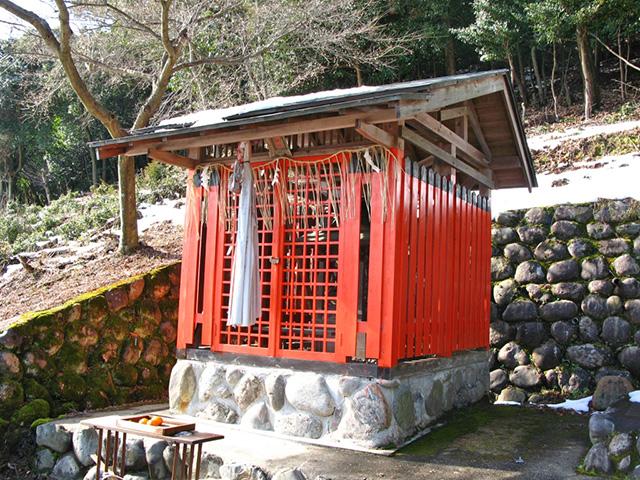 深泥池貴舩神社境内の秋葉神社