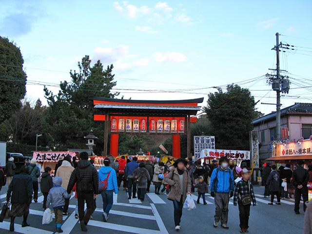 吉田神社の節分祭