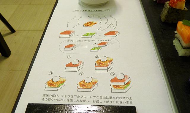 AWOMB - 食べ方