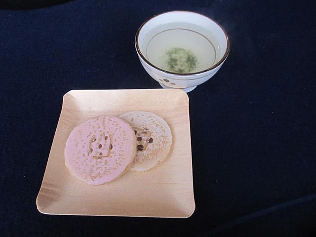 北野天満宮 - 茶菓子