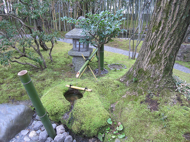 松花堂庭園 - 水琴窟