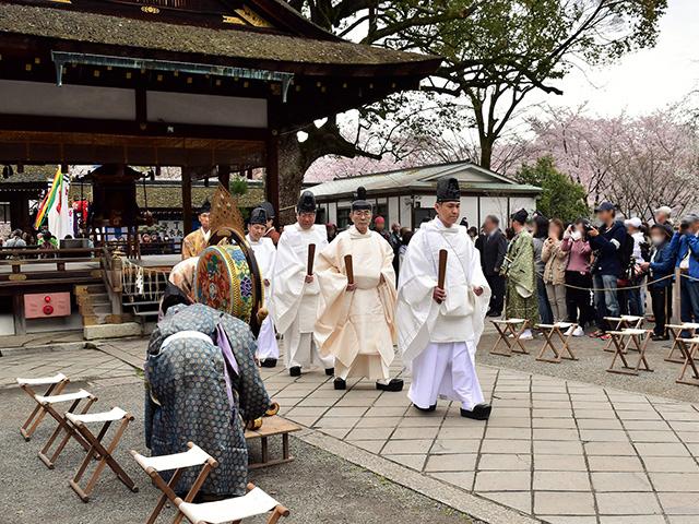 平野神社 - 桜花祭 神事1