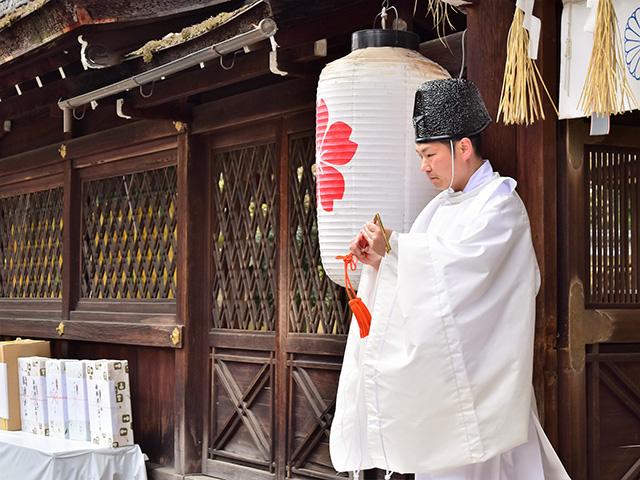 平野神社 - 桜花祭 神事2
