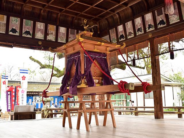 平野神社 - 桜花祭 神事3