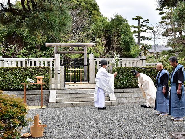 平野神社 - 桜花祭 神事4