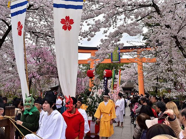 平野神社 - 桜花祭 時代行列1