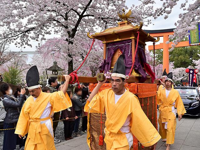 平野神社 - 桜花祭 時代行列2