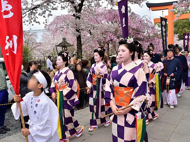 平野神社 - 桜花祭 時代行列3