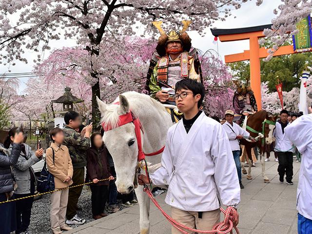 平野神社 - 桜花祭 時代行列4