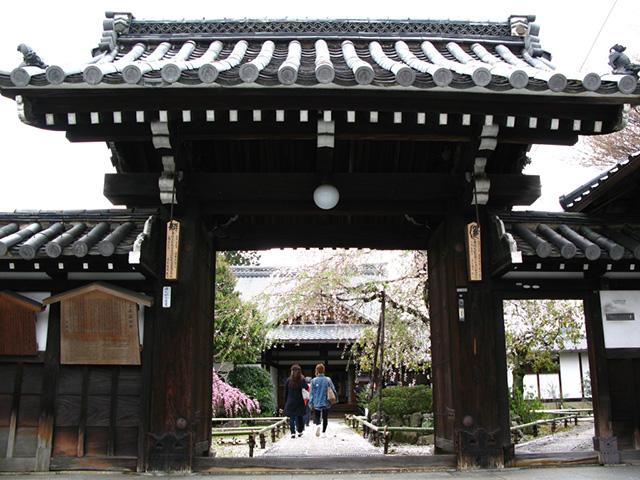 上品蓮台寺 - 山門