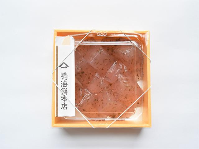鳴海餅本店 - 桜のわらび餅1