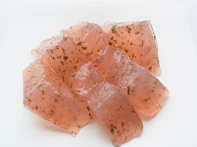 鳴海餅本店 - 桜のわらび餅2