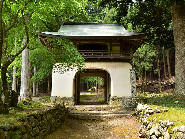 古知谷阿弥陀寺 - 楼門
