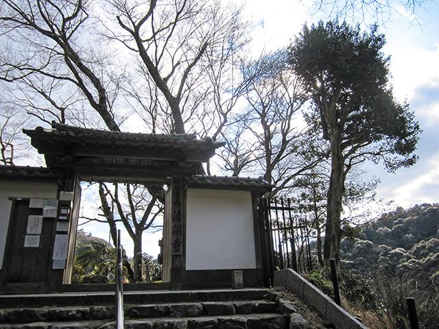 清閑寺 - 山門