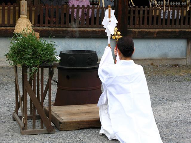 今宮祭 - 湯立祭1