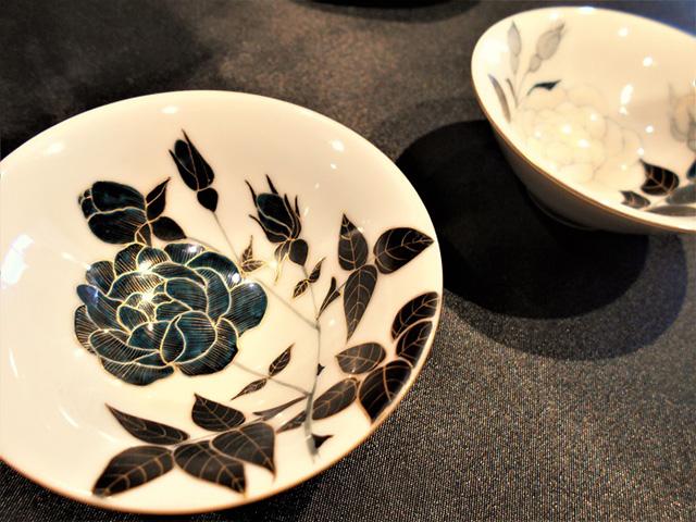 京都伝統工芸館 - 絵付け完成品1
