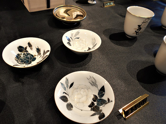 京都伝統工芸館 - 絵付け完成品2