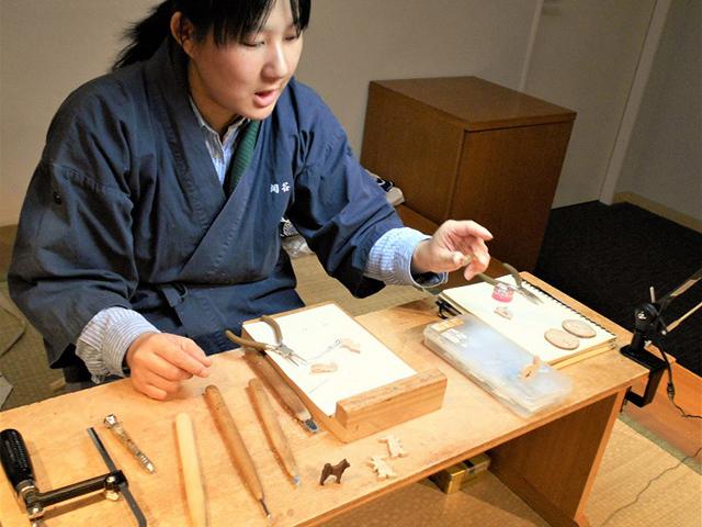 京都伝統工芸館 - 木彫刻1