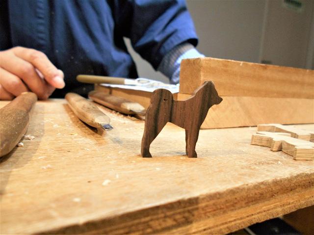 京都伝統工芸館 - 木彫刻3