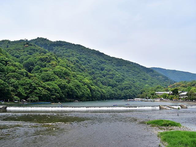 三船祭 - 大堰川