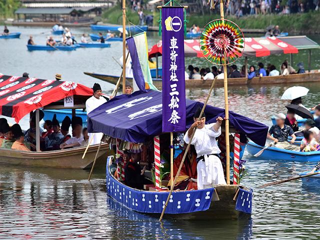 三船祭 - 御座船1