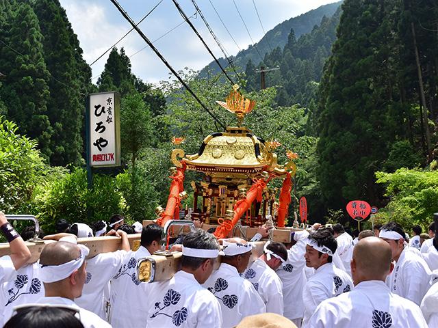 貴船祭 - 神輿2