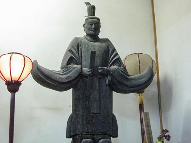 風まつり(千本ゑんま堂)- 小野篁の像