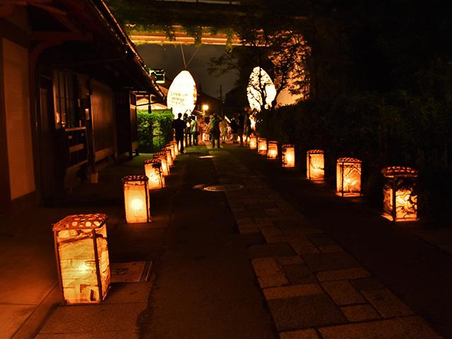 千灯供養(あだし野念仏寺)- 行灯1