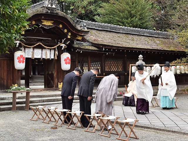 紫式部祭(平野神社)- 神事