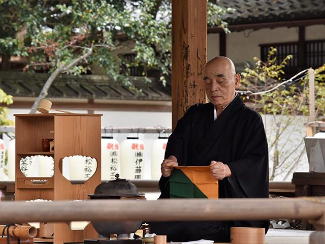 紫式部祭(平野神社)- 献茶式1